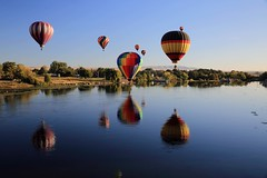 Prosser Balloon Rally 2016 (BCosman) Tags: prosserballoonrally hotairballoons river prosser washington