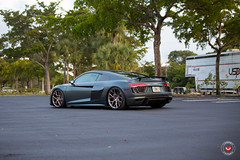 Audi R8 Vossen Forged CG-204 - H&R Coilovers Install  -  Vossen Wheels 2016 -  1098 (VossenWheels) Tags: audi audiaftermarketwheels audiforgedwheels audir8 audir8forgedwheelsl audir8install audiwheels cgwheels cg204 hr hrcoilovers platinum polished r8 r8aftermarketwheels r8forgedwheels vossenwheels2016