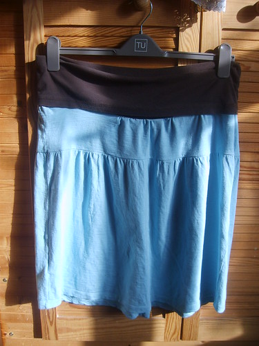 Yoga waist band skirt