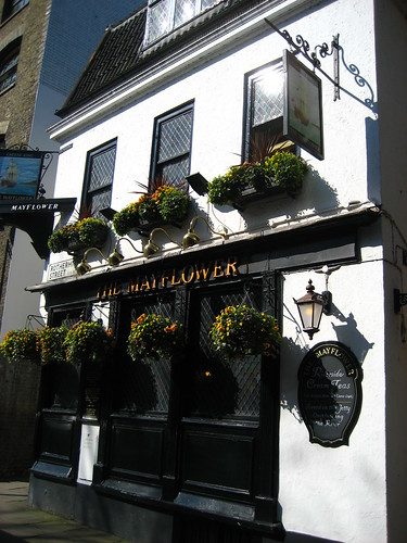 The Mayflower pub in Rotherhithe