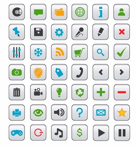 Top 10 Best Vector Icon Collection for Web Design 2011