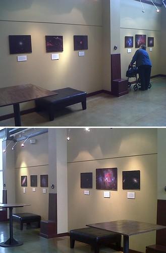Astrophotography Exhibition Dogwood Center Fremont MI