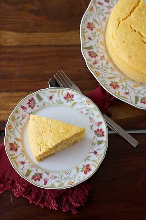 Eggless Golden Yellow Cake