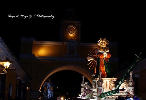 Procesión de La Iglesia de Santa Ines 09