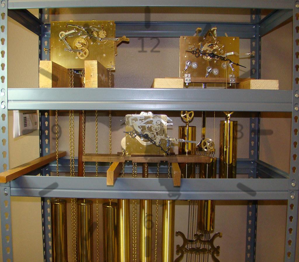 Gulf Coast Clock Co- Floor Clock Repair Stand, Pensacola, FL