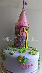Tangled cake (Mily'sCupcakes) Tags: argentina cake cupcakes princess buenos aires disney rapunzel tangled enredados milys
