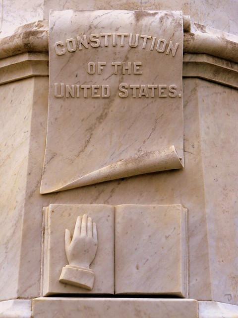 President Andrew Johnson Gravesite 4: Constitution & Bible