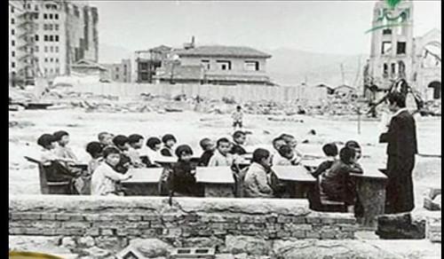 الصورة لــِ معلم و تلاميذه في العراء by AmrHassaan