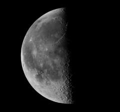 Morning Moon (auburnxc) Tags: blackandwhite bw moon march spring luna explore lunar explored auburnphotographyclub 03262011 march262011