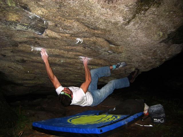 Victor en el techo de Cahopao