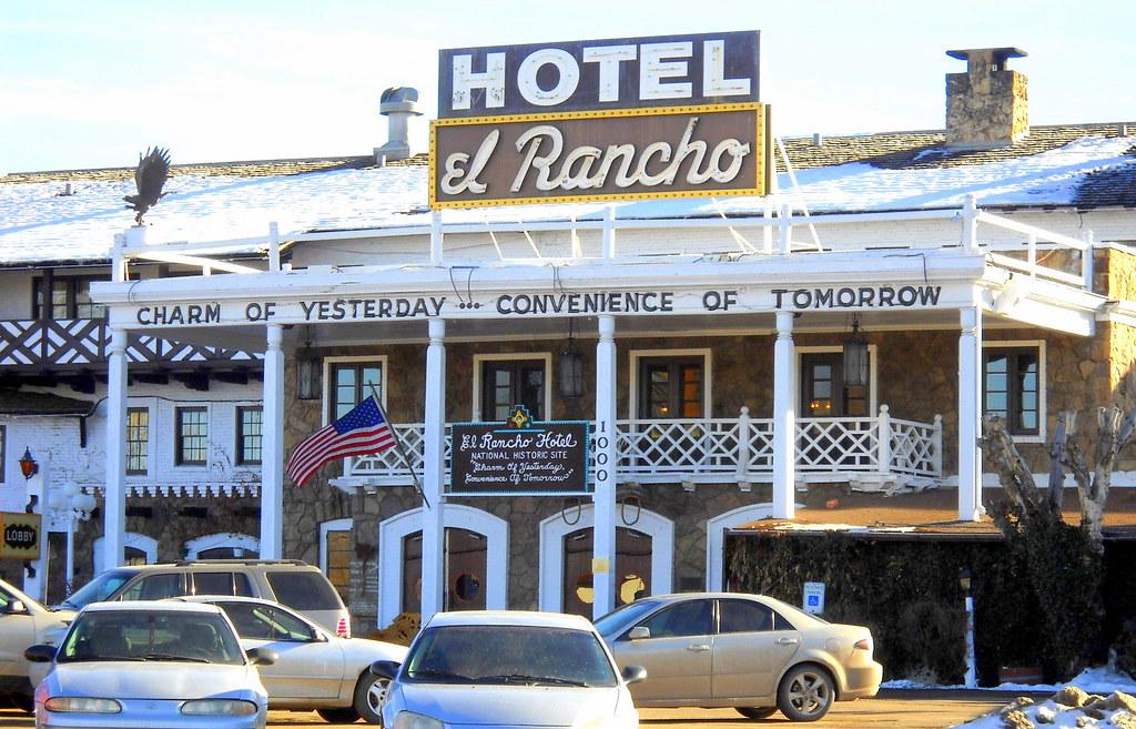 El Rancho Hotel, 1000 E. Historic Route 66, Gallup, NM, built 1937