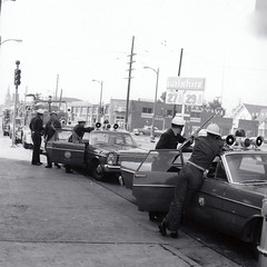 Watts Riots Fire Station 22 command post north. Vernon and Main Street
