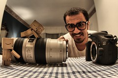 "(EXPLORED) Let's mount the lens to the 60D.. ALMOST THERE!! (M. Al-Dhafeeri ""Pirate"") Tags: new canon lens luxury 70200 danbo 60d hamimchowdhury"