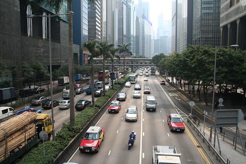 2011-02-25 - Hong Kong - Miscellaneia - 01 - Pedestrian overpass