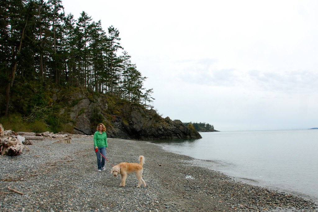 Beach at Deception Pass Park