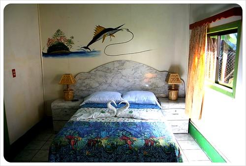 los delfinos hotel room Little Corn Island
