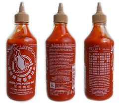 Sriracha met extra knoflook