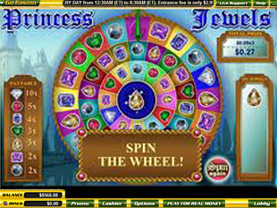 free Princess Jewels slot game bonus feature