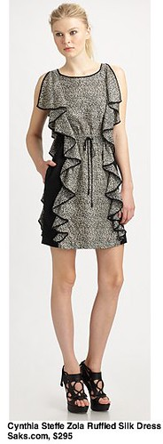 Saks.com - Cynthia Steffe - Zola Ruffled Silk Dress