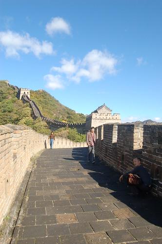 Ein heisser Tag auf der chinesischen Mauer