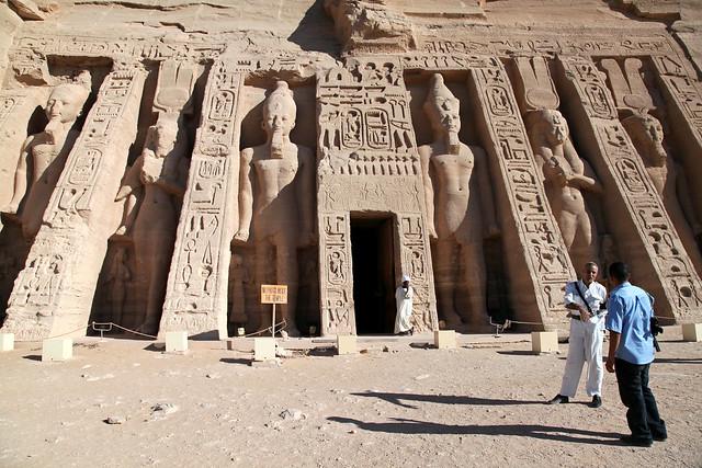 エジプト、アブシンベル小神殿