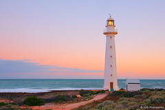 Point Lowly Lighthouse, Whyalla, Australia (-yury-) Tags: lighthouse australia southaustralia whyalla sunsetsea pointlowly salandscape