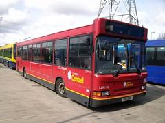 S110 EGK (markkirk85) Tags: new bus london yard general pointer central visit depot dennis sales dart ensign s110 slf plaxton egk 121998 ensignbus ldp110 s110egk