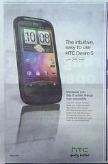 android htc desire s