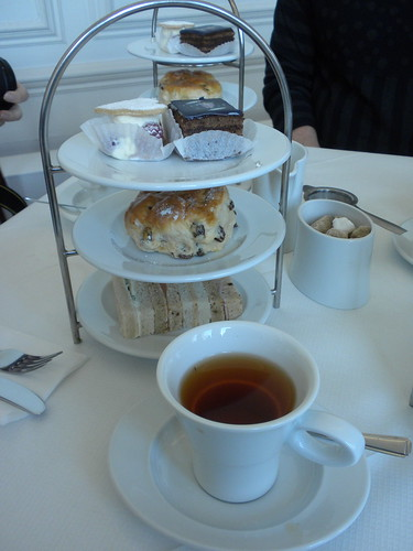Tea at the Orangery, Kensington Palace