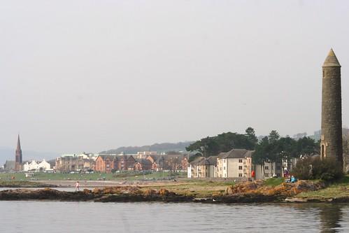 Largs Seaside Town