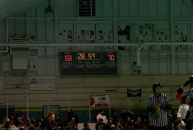 half time score