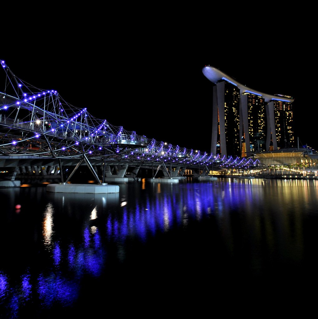 Helix bridge 螺旋桥 ...