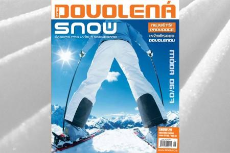 SNOW 29 DOVOLENÁ - největší průvodce zimní dovolenou