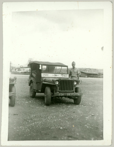 Jeep and two men