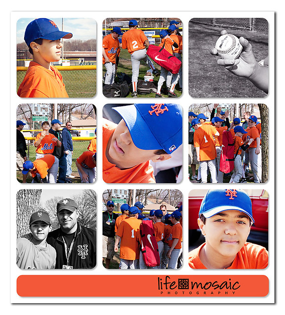 Opening Day Baseball 2011 Field Collage