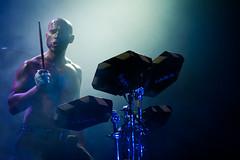 Live drums - Larva @ Salamandra de L'Hospitalet 26-03-11.jpg