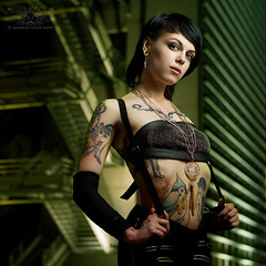 Purdey (Nya) (P_mod) Tags: tattoo ink rise suicidegirls nya purdey pmod
