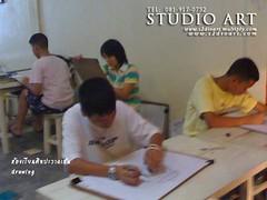 studio art บรรยากาศห้องเรียนศิลปะสตูดิโออาร์ต