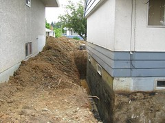 We can access your perimeter drains without even touching your house!