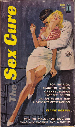 Title: The Sex Cure Author: Elaine Dorian Cover artist: Uncredited