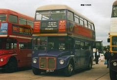 RM 1101, 101 CLT, AEC Routemaster (1), Park Royal Body H36-28R, 1961 (Andy Reeve-Smith) Tags: birkenhead duxford routemaster cambridgeshire parkroyal rm londontransport aec showbus wirraltransportmuseum