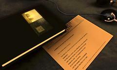 Collecting memories (Hitomi Mokusei) Tags: art collage painting book artwork poem memories journal sketchbook sl secondlife telegram ballstateuniversity westernunion virtualworld amradio idia beneaththetreethatdied centerformediadesign instituteofdigitalintermediadesign reallifepaintingcollagebyamradio
