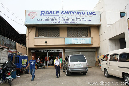 Roble Shipping Inc Ticketing Office at North Reclamation Area.
