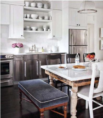 H&H eclectic kitchen