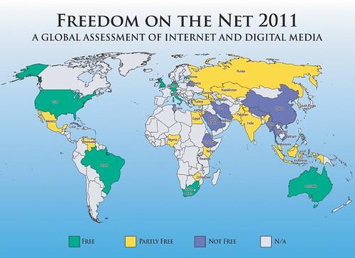 media freedom map