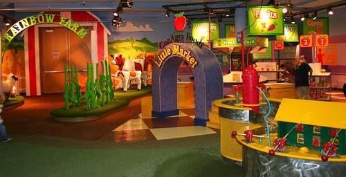 Rainbow Farm and playroom