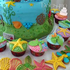 Little Mermaid Cake cupcakes & cookies / Sirenita (anita.dolcissimo) Tags: cake little mermaid torta sirenita