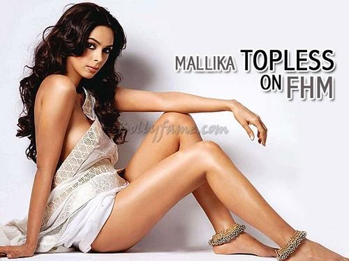 Mallika Sherawat FHM magazine April 2011 Scan 5 -www.Bollyfame.com