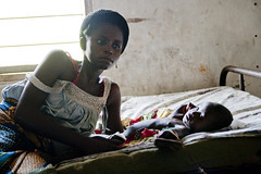 World Malaria Day: Woman and child (Christian Aid Images) Tags: disease health impact poverty malaria nets worldmalariaday nigeria mather child baby