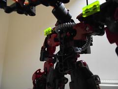 Kalmah MOC (Front torso (Beardly Designs) Tags: robot factory lego hero bionicle moc bzpower